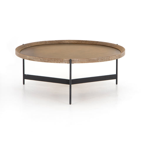 Nathaniel Coffee Table In Light Burnt Oak