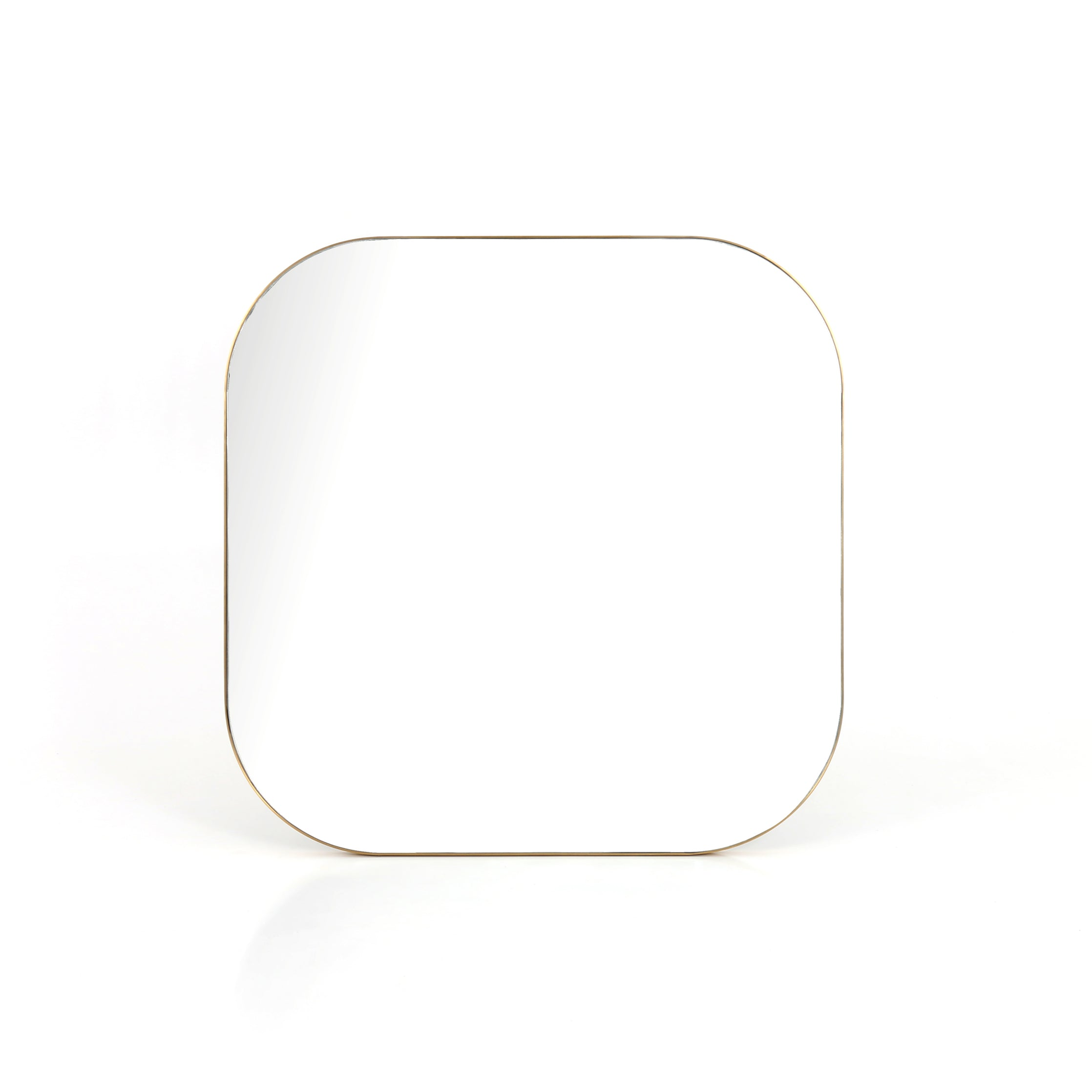 Bellvue Square Mirror in Brass design by BD Studio
