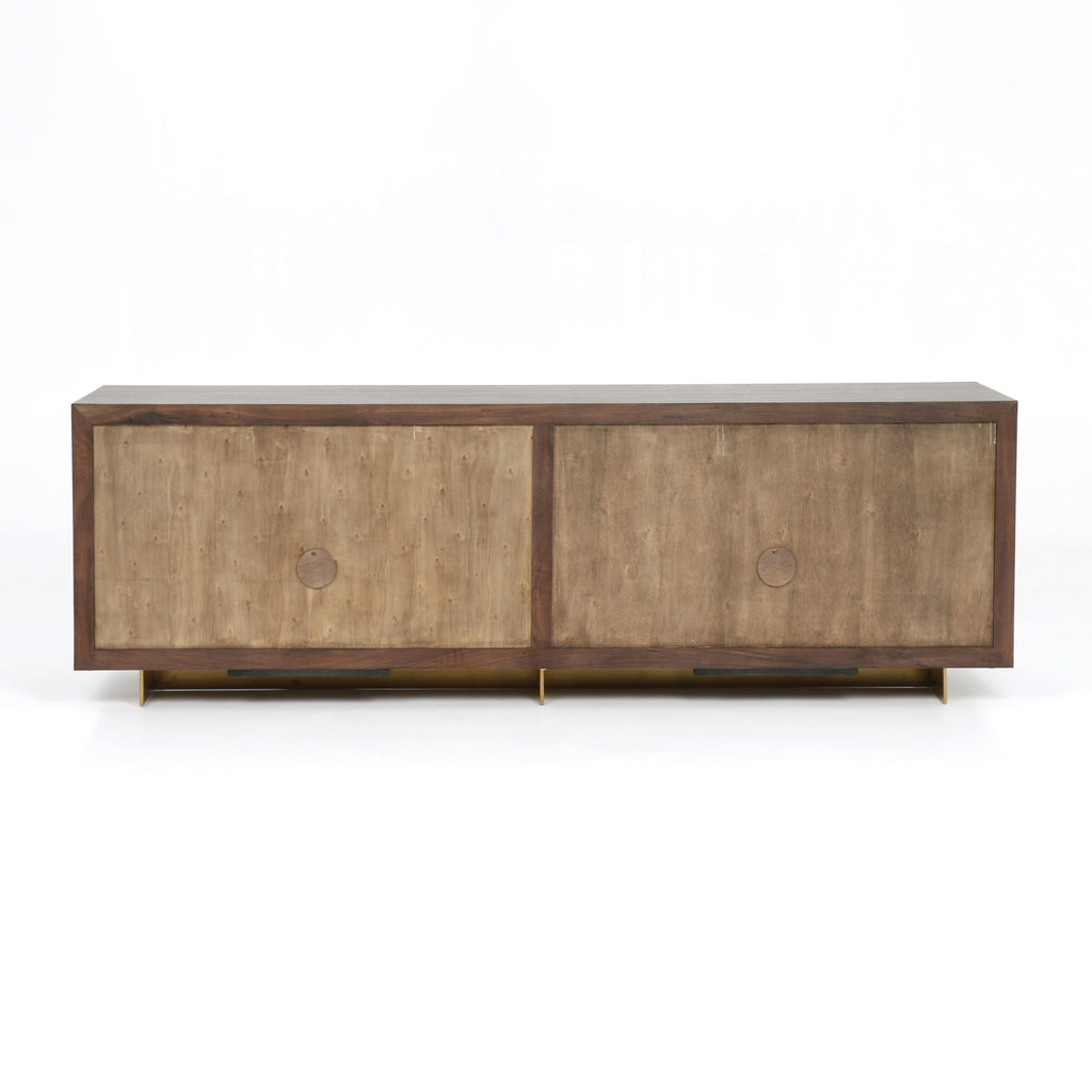 Enzo Sideboard in Polished Brass