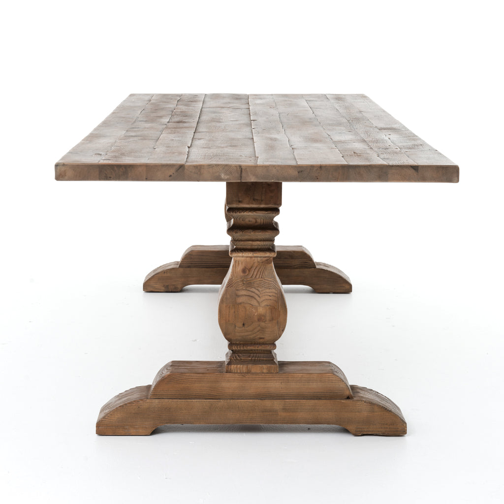 Durham 110 Dining Table In Bleached Oak
