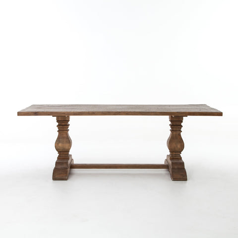 Durham Dining Table in Bleached Oak