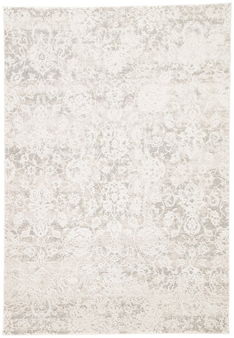 Alonsa Abstract Gray & White Area Rug design by Jaipur