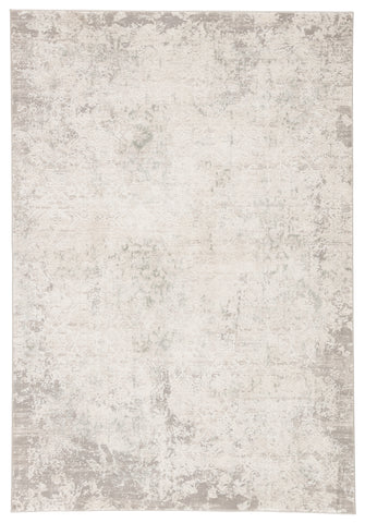 Siena Damask Rug in Elephant Skin & Silver Birch design by Jaipur