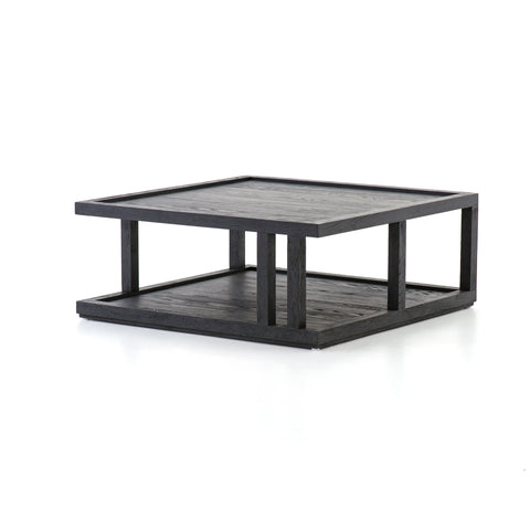 Charley Coffee Table in Drifted Black