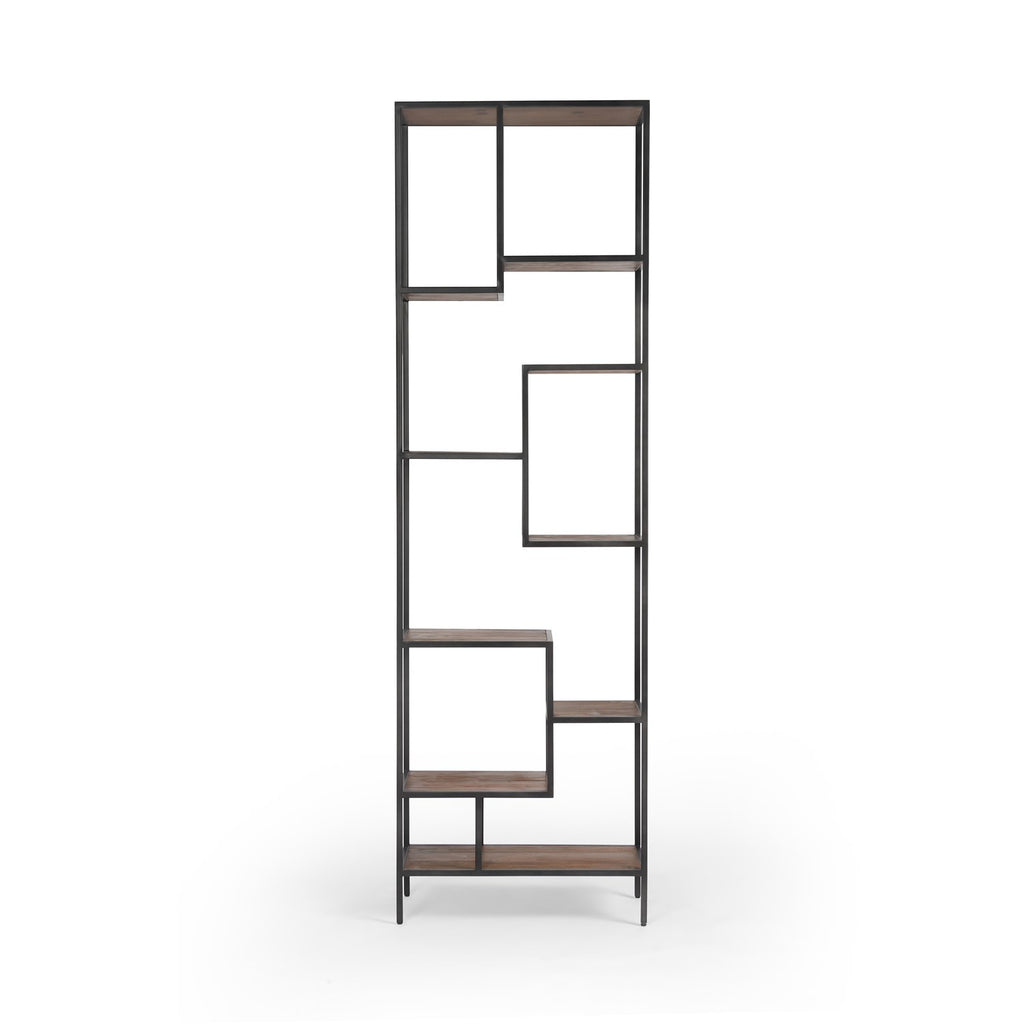 Helena Waxed Black Bookcase in Various Sizes