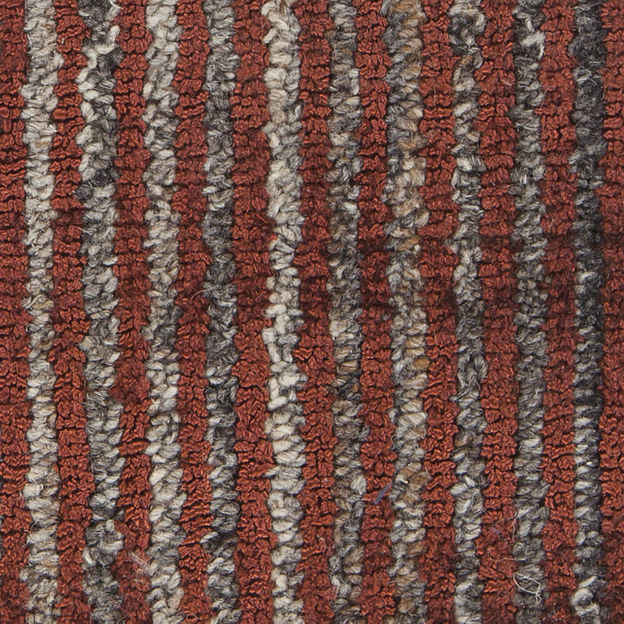 Citizen Collection Hand-Woven Area Rug in Rust