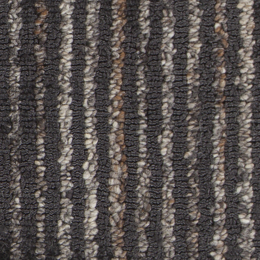 Citizen Collection Hand-Woven Area Rug in Charcoal design by Chandra rugs