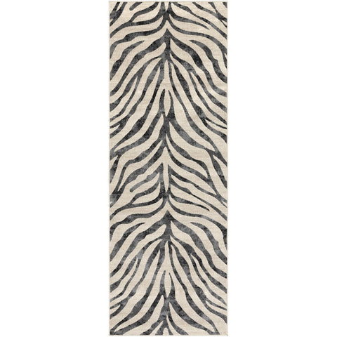 City CIT-2300 Rug in Black & Beige by Surya