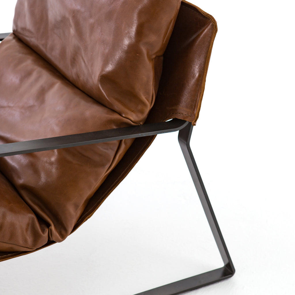 Emmett Sling Chair in Dakota Tobacco