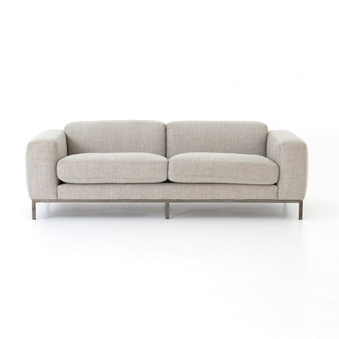 "Benedict Sofa-84"" in Gabardine Grey"