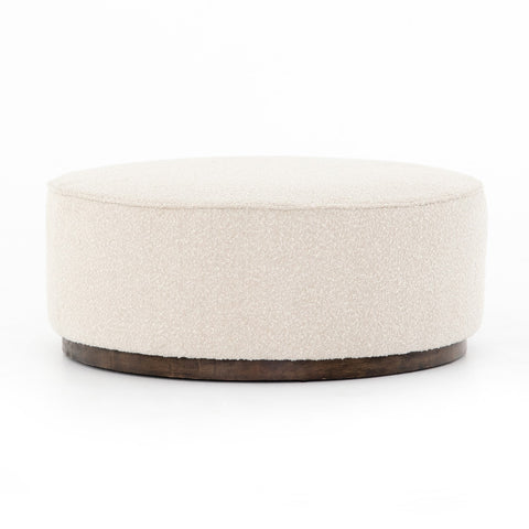 Sinclair Large Round Ottoman