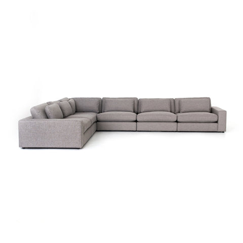 Bloor 6-Pc Sectional in Chess Pewter