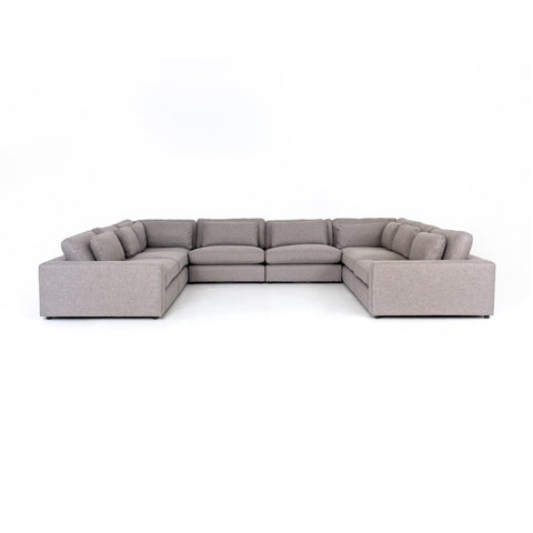 Bloor 8-Pc Sectional in Chess Pewter