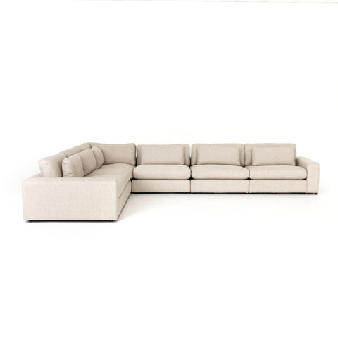 Bloor 6 Piece Sectional in Essence Natural