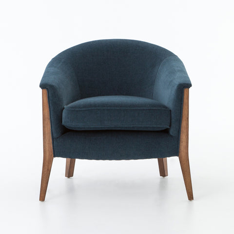 Nomad Chair in Plush Azure by BD Studio