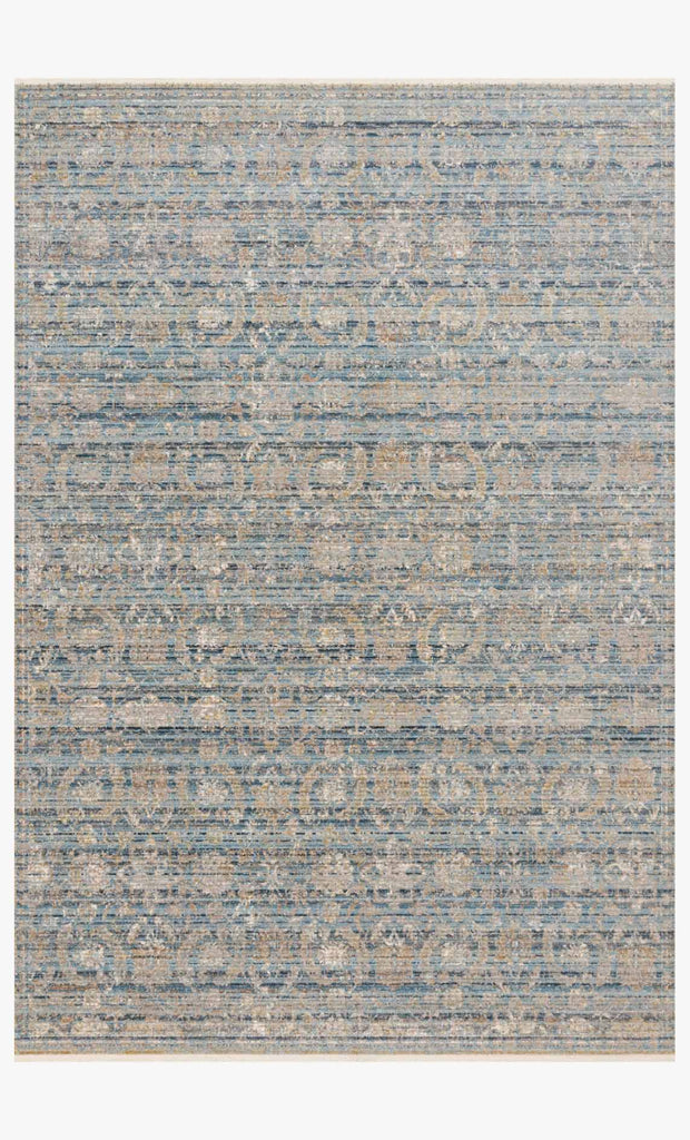 Claire Rug in Ocean & Gold by Loloi