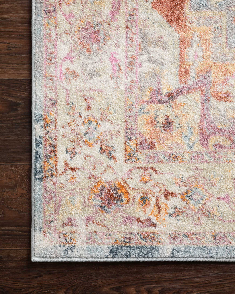 Clara Rug in Sunset & Ivory