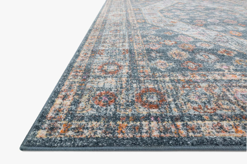 Clara Rug in Blue & Light Blue by Loloi