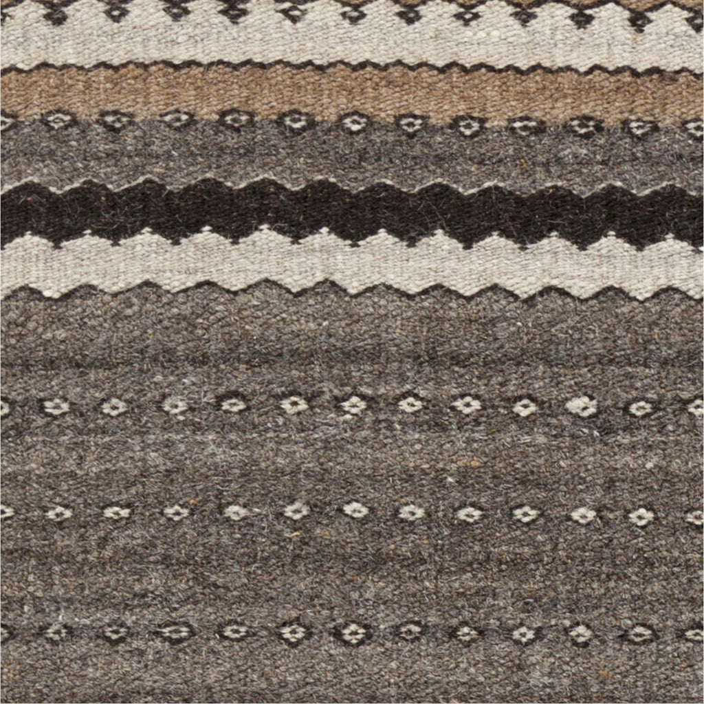 Camel CME-2000 Hand Woven Rug in Dark Brown & Khaki by Surya