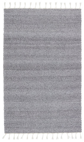 Encanto Indoor/Outdoor Solid Grey & White Rug by Jaipur Living