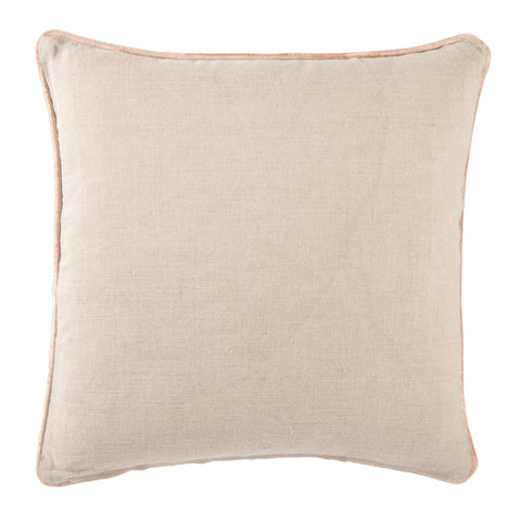 Cosmic Pillow in Oatmeal & Cuban Sand design by Nikki Chu