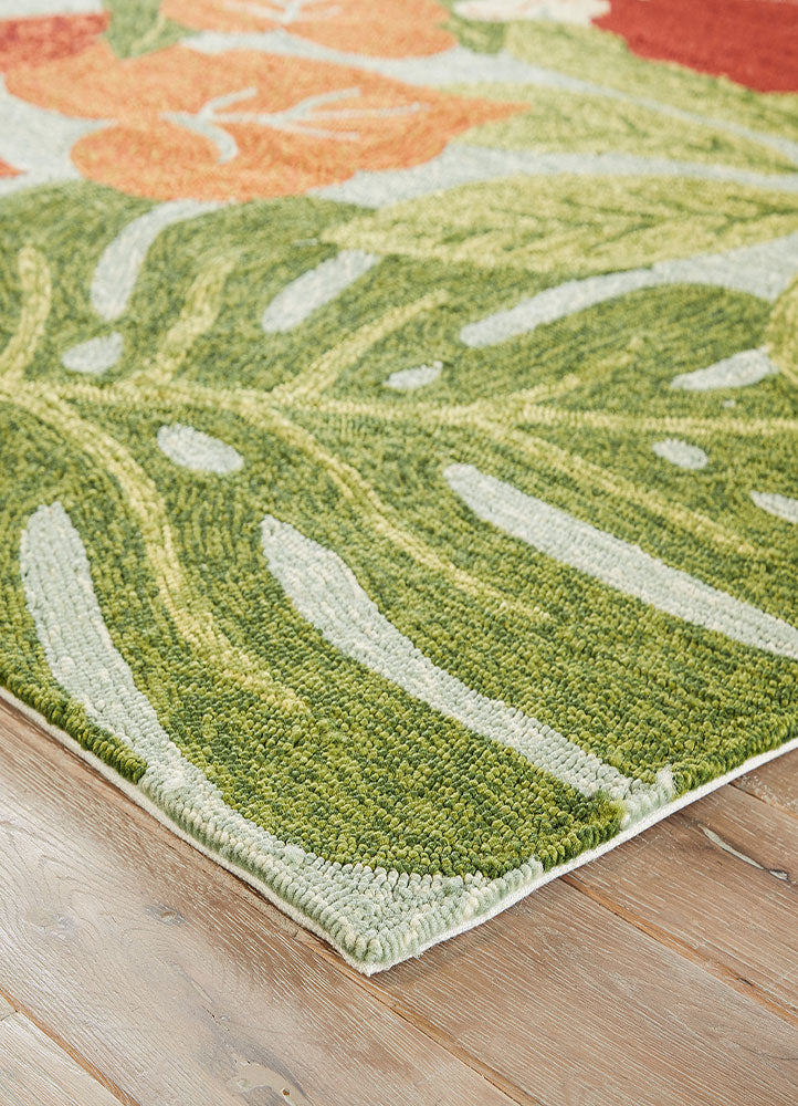 Coastal living collection luau rug in dream blue design by for Gardening tools jaipur