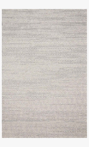 Cole Indoor/Outdoor Rug in Grey & Bone by Loloi