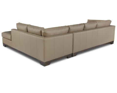 Colony Arm Right Sectional in Mushroom
