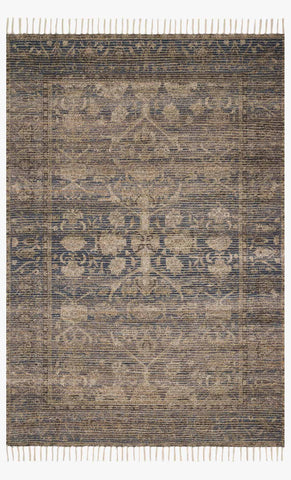 Cornelia Rug in Indigo & Natural by Justina Blakeney for Loloi
