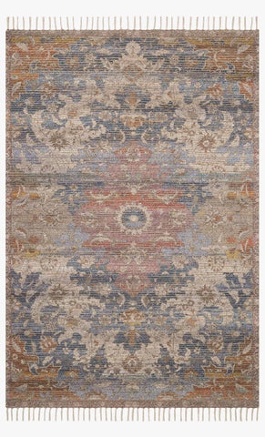 Cornelia Rug in Denim & Multi by Justina Blakeney for Loloi