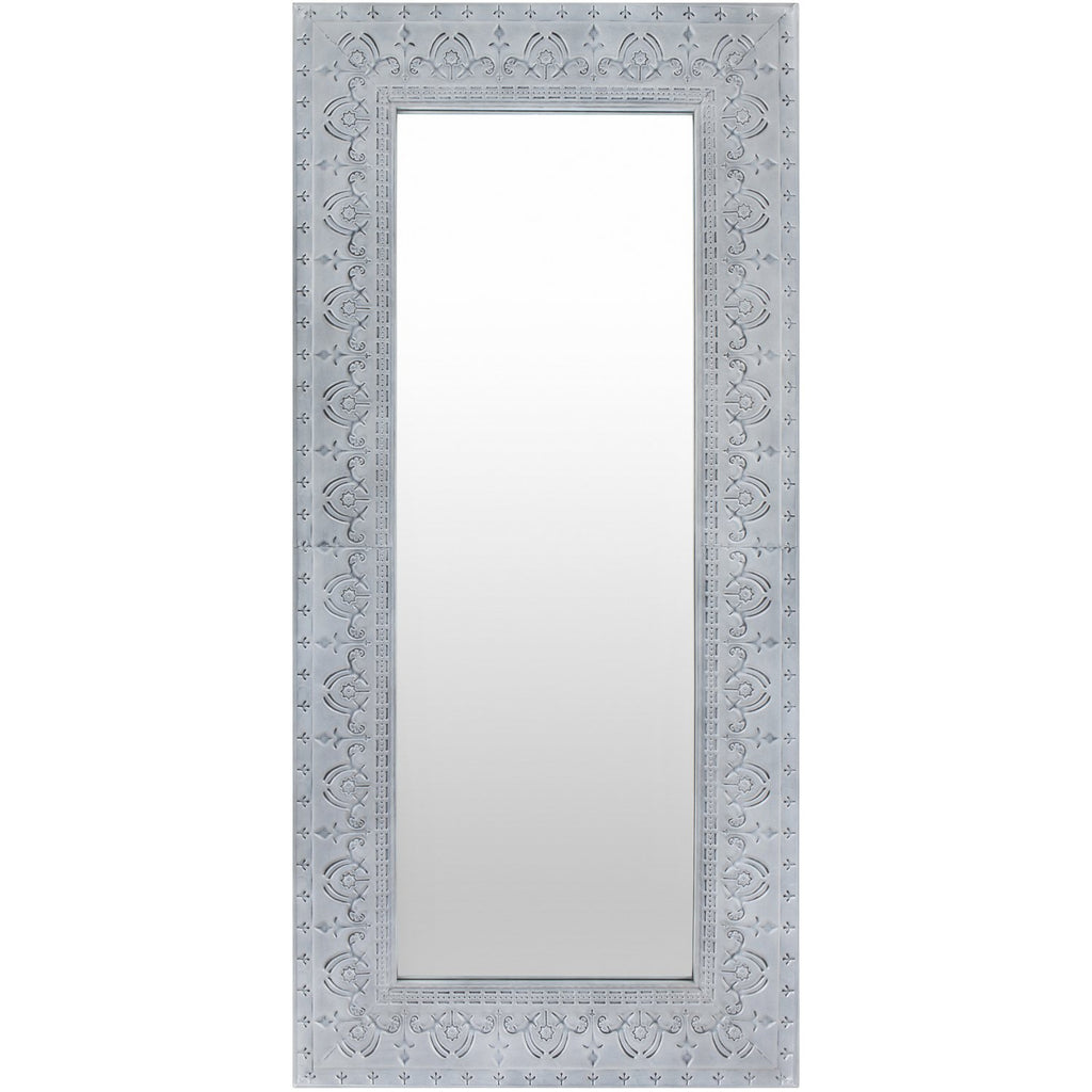Capacious CPC-001 Rectangular Mirror in Grey by Surya