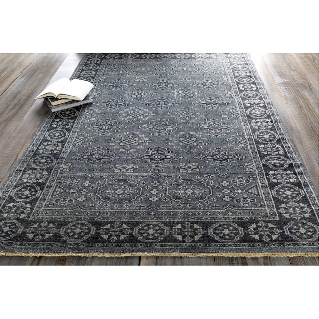 Cappadocia CPP-5012 Hand Knotted Rug in Denim & Ink by Surya
