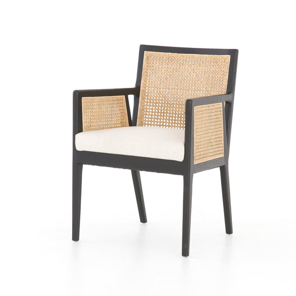 Antonia Cane Dining Arm Chair by BD Studio