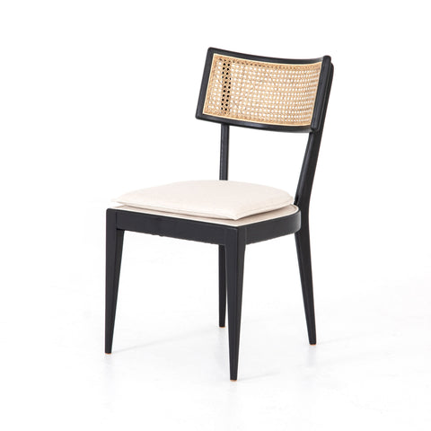 Britt Dining Chair in Brushed Ebony