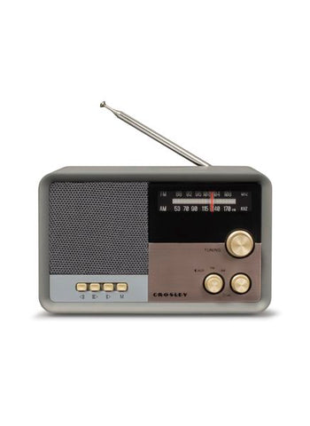 Tribute AM/FM Radio in Charcoal
