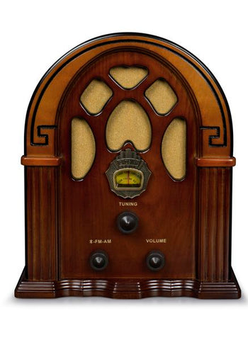 Companion Radio in Walnut