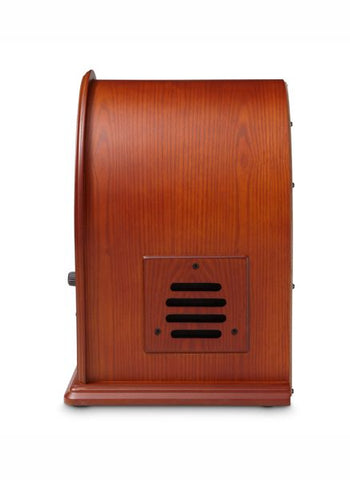 Cathedral Tabletop Radio CD Player w/Bluetooth in Paprika