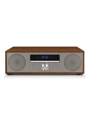 Fleetwood Clock Radio & CD Player in Walnut