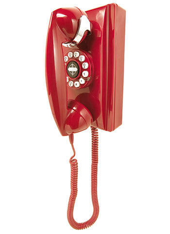 302 Wall Phone - Red
