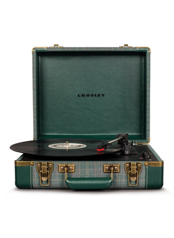Executive Deluxe Portable USB Turntable in Pine