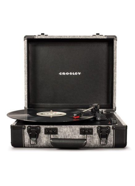 Executive Deluxe Portable USB Turntable in Smoke