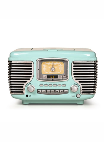 Corsair Radio with Bluetooth - Aqua Blue