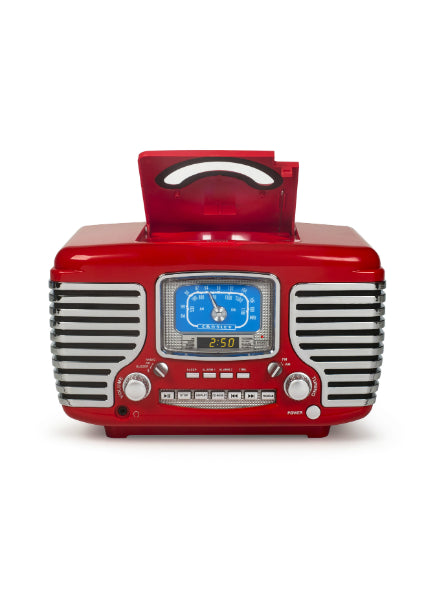 Corsair Radio with Bluetooth - Red design by Crosley