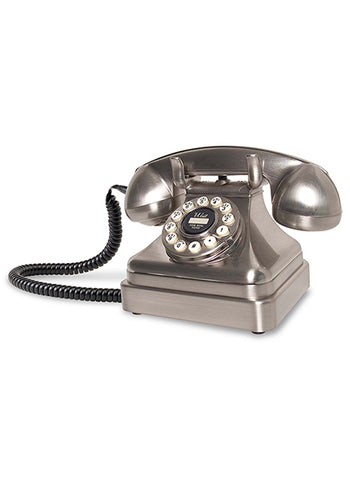 Kettle Classic Desk Phone - Brushed Chrome