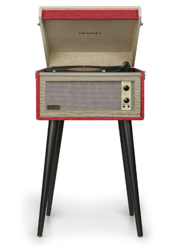 Bermuda Turntable in Red design by Crosley