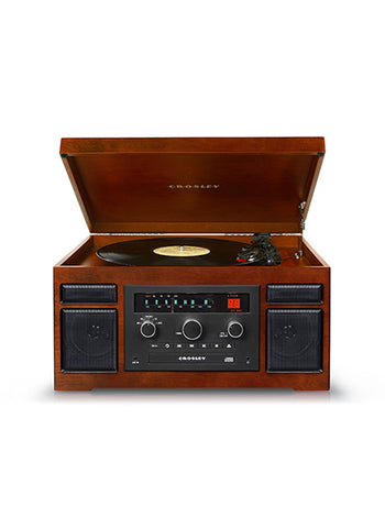 Patriarch Turntable in Mahogany design by Crosley