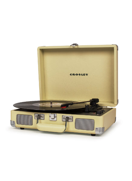 Crosley Cruiser Deluxe Turntable with Bluetooth - Fawn