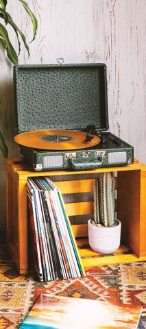 Cruiser Deluxe Turntable with Bluetooth - Ostrich