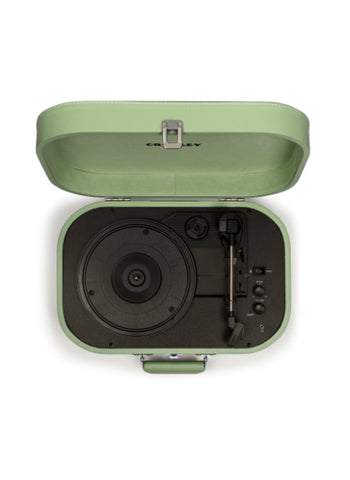 Discovery Portable Turntable in Seafoam