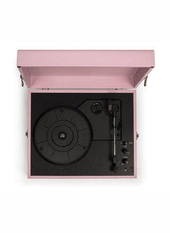 Voyager Portable Turntable - Amethyst design by Crosley